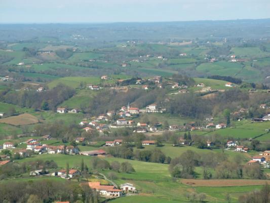 Bourg (vue d'Abarratia)