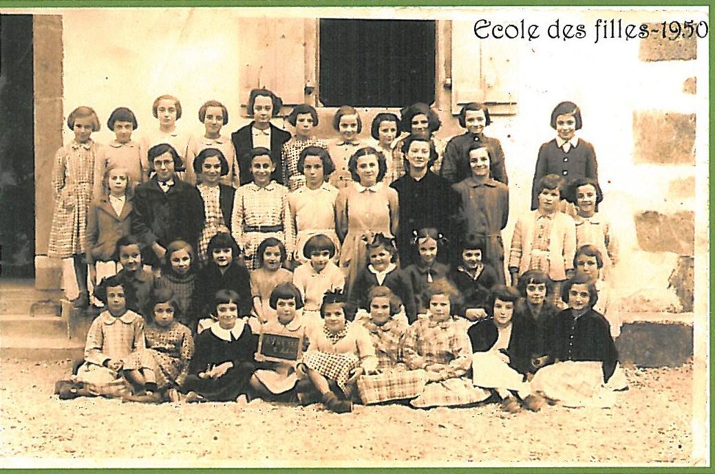 Ecole des filles - 1950