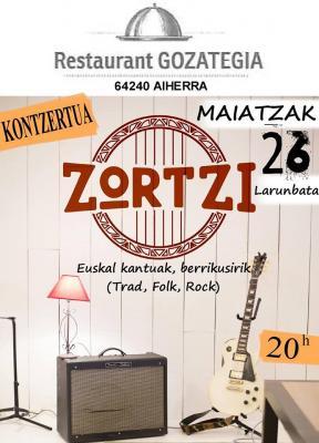 affiche concert gozategi