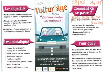 Affiche securite routiere