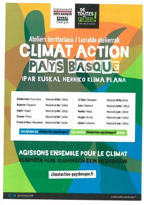 Climat action pays basque