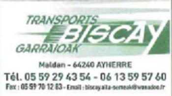 Logo entreprise biscay