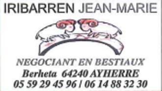 Logo entreprise iribarren bestiaux