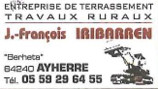 Logo entreprise iribarren terrassement
