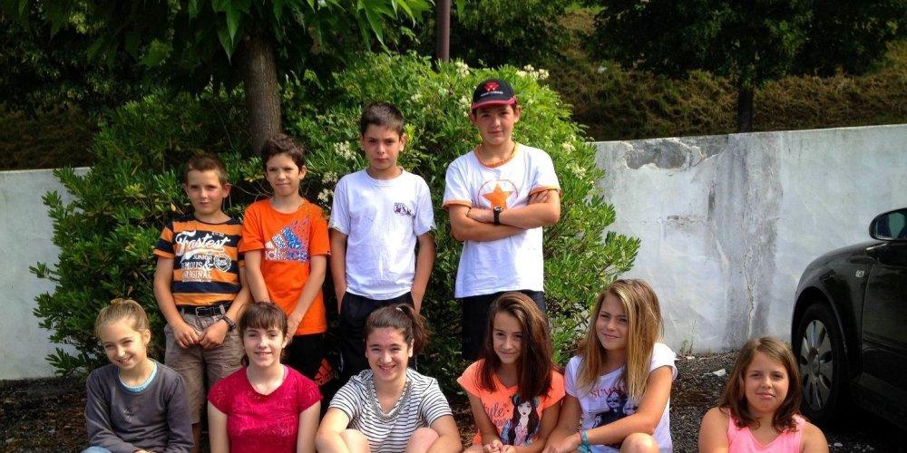 Les Aihertars à Antzuola